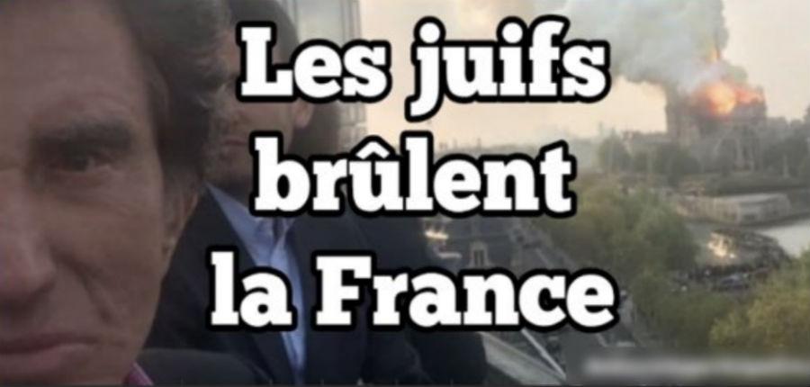juifs brulent la France