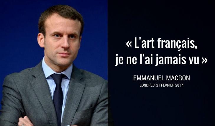 Incendie de Notre-Dame : Quand Macron affirmait qu'il n'avait jamais vu «l'art français» et qu'il n'existait pas de «culture française»…