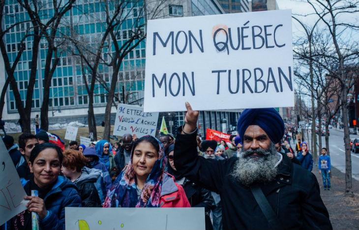 «Allah Akbar», une manif islamiste anti-laïcité organisée au Québec par un proche d'Al Qaïda