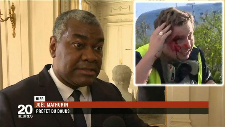 Gilet Jaune matraqué à Besançon : La version du préfet remise en cause par les images, enquête IGPN ouverte