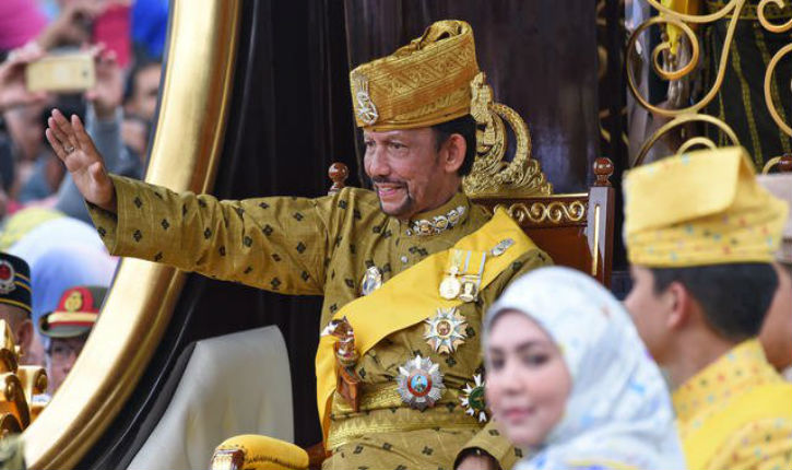 Le sultanat de Brunei instaure suivant la charia, la lapidation et la peine de mort en cas d'adultère ou d'homosexualité