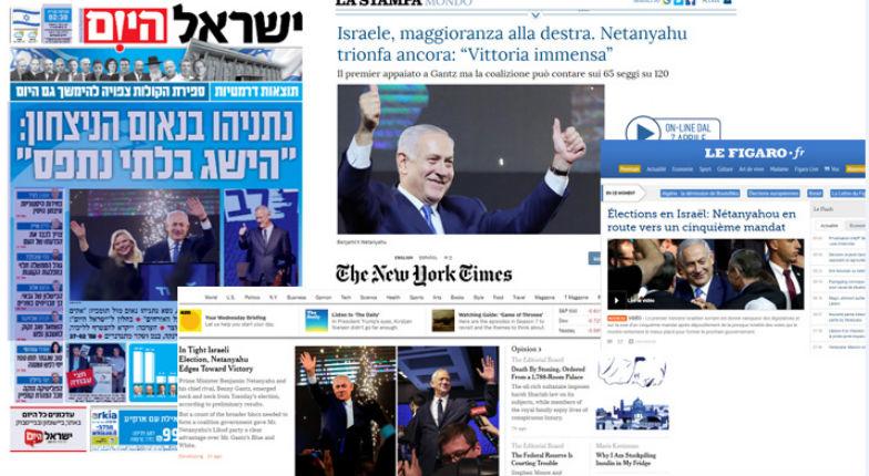 Elections en Israël : grande victoire pour Benjamin Netanyahu et le Likoud, ainsi que pour les partis de droite. La gauche disparait pratiquement