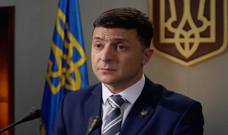 Le candidat et humoriste juif Volodymyr Zelensky, est élu président d'Ukraine