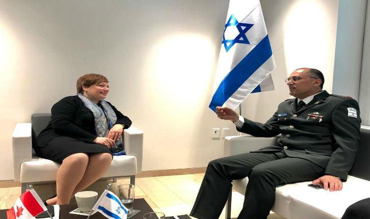 L'Université de Toronto honore Dr Bader Tarif, le médecin-chef des forces armées de défense israélienne