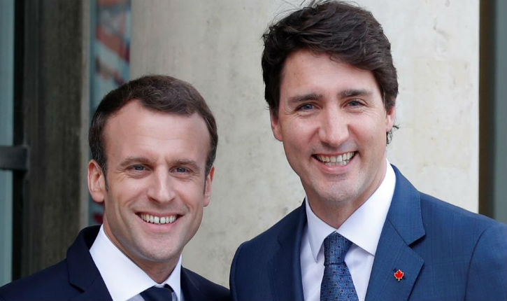 Le coupleMacron-Trudeau met la lutte contre« l'islamophobie » comme leur priorité