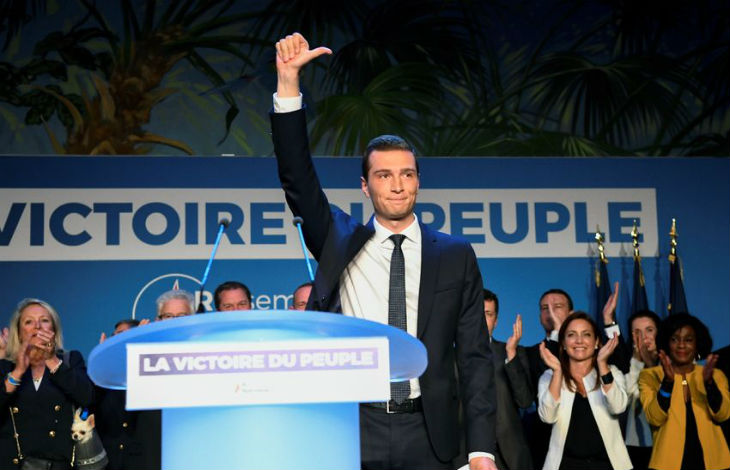 Bardella européennes victoire RN