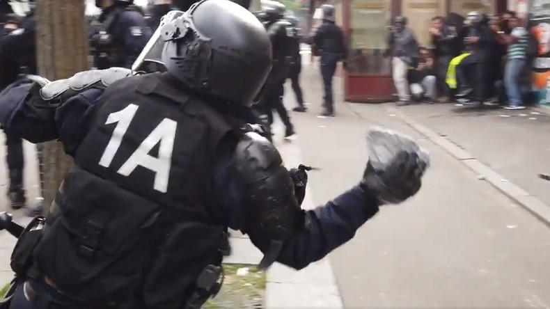 Violences policières sur les Gilets jaunes : «Des policiers seront renvoyés en correctionnelle» assure le procureur de Paris… jusque là aucun policier mis en examen