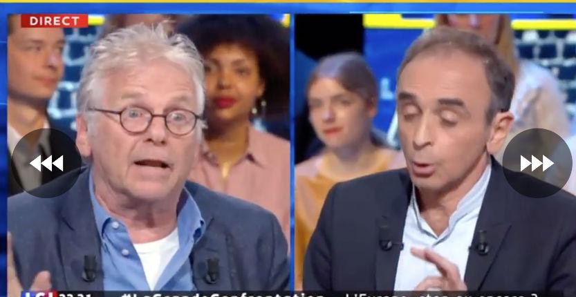 L'infecte gauchiste Cohn-Bendit qualifie d'ordure Eric Zemmour, Pierre Cassen «Zemmour défend la France, alors que Cohn-Bendit la livre au tiers-monde» (Vidéo)