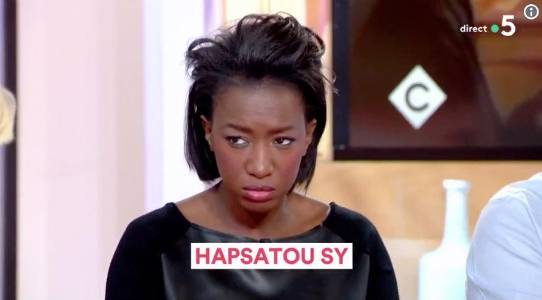 Hapsatou Sy : « Le racisme d'Éric Zemmour fait beaucoup plus de bruit que l'amour qui peut exister dans notre société ! » (Vidéo)