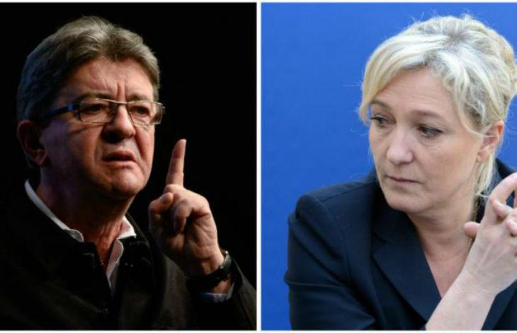 Le Rassemblement national séduit une partie de l'électorat de Mélenchon. Avec 36 % d'opinions favorables, le RN atteint un niveau de popularité inédit
