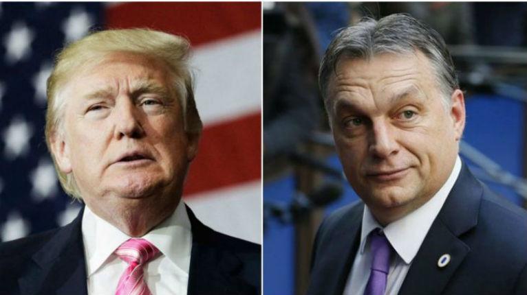 Donald Trump reçoit le Hongrois Viktor Orban malgré les critiques de gauche