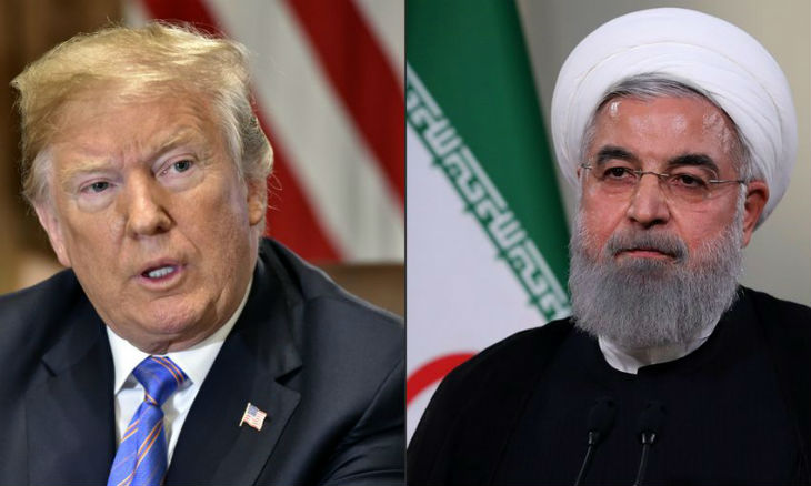 Trump vs Rohani
