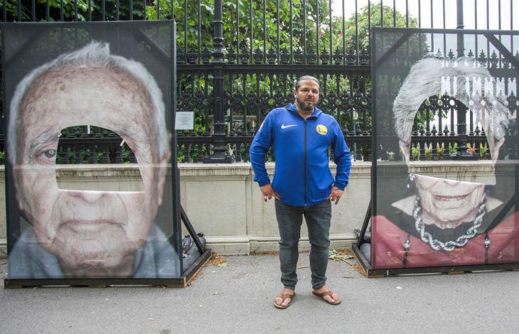 Des portraits de rescapés de la Shoah vandalisés à Vienne