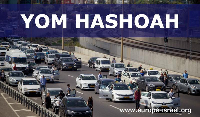 Israël se fige pendant deux minutes en mémoire des victimes de la Shoah (Vidéo)