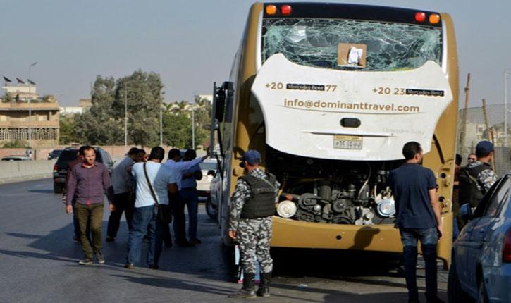 car egypte explosion