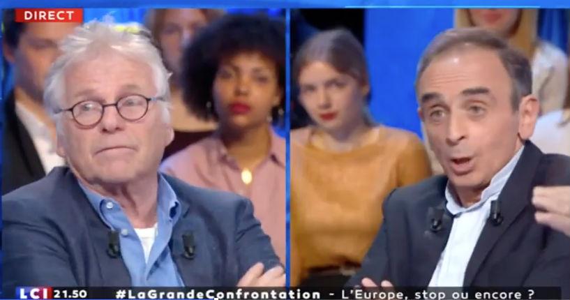 Zemmour face à Cohn-Bendit «Les migrants sont des envahisseurs : quand les gens forcent une frontière ça s'appelle envahir un pays» (Vidéo)