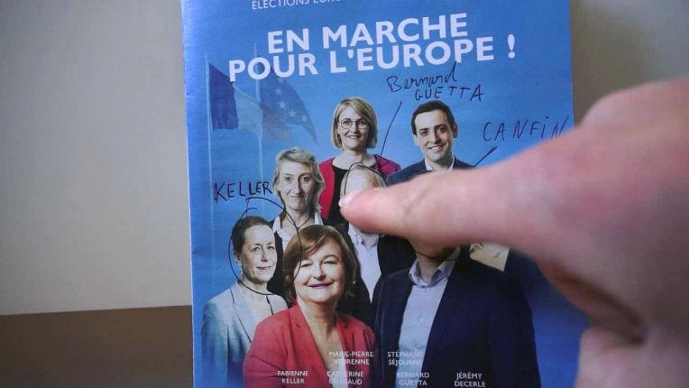 en marche pour l'européenne
