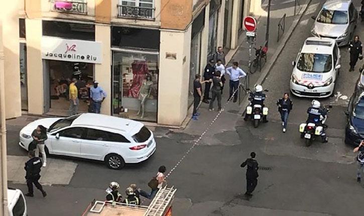 Lyon: explosion d'un colis piégé rue Victor Hugo, au moins 13 blessés