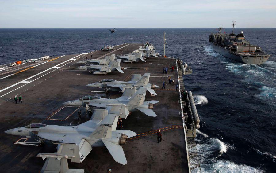 Les B-52, les patriotes, les F-35 et bien plus encore: les USA déploient leurs puissance face à l'Iran