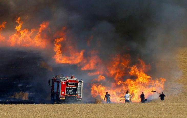 incendies en israel
