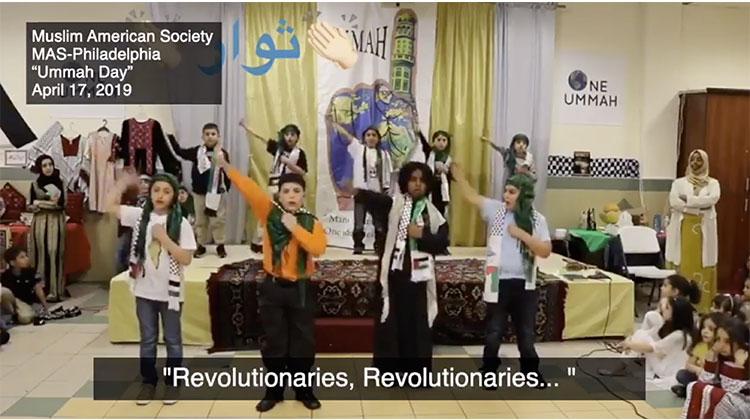 Philadelphie: des écoliers musulmans chantent des chansons du Hamas