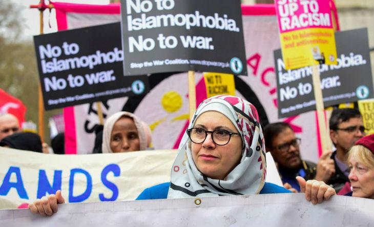 loi islamophobie Grande Bretagne