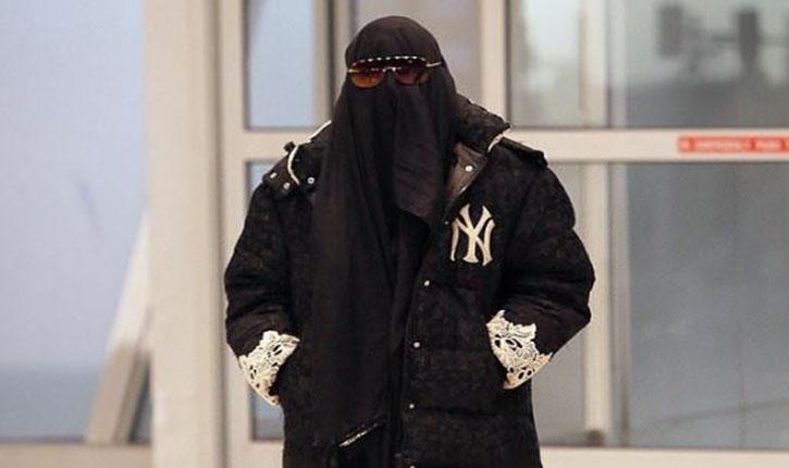madonna niqab