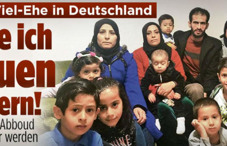Réfugié syrien avec trois femmes et 13 enfants, Abboud ne travaille pas : « J'ai hâte qu'on devienne Allemand »