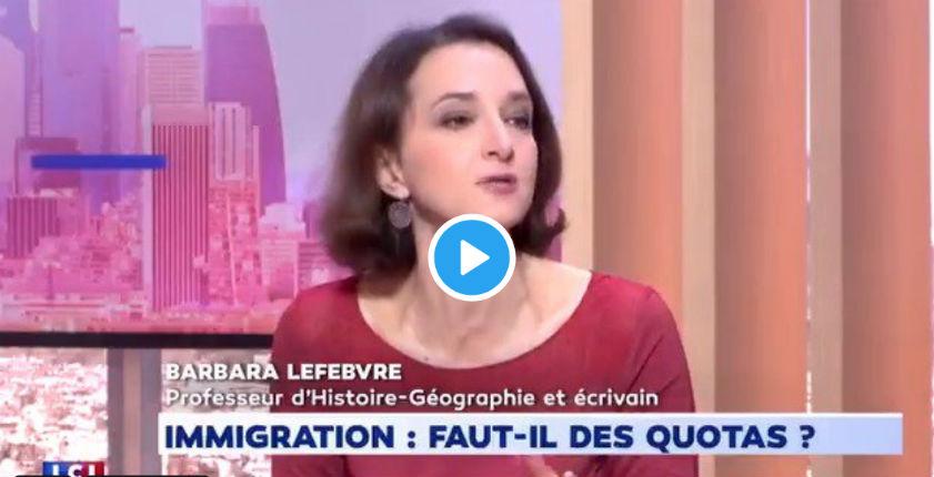 Barbara Lefebvre : « Les Français demandent aux gens qui s'installent en France de respecter leur mode de vie » (Vidéo)