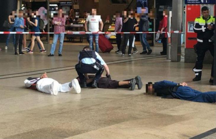 Cologne, Allemagne : pour fêter la fin du Ramadan, ils courent en criant « Allah Akbar » et créent la panique dans la gare. Les musulmans accusent la police de racisme