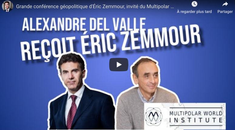 Del Valle reçoit Zemmour