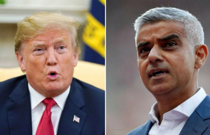 Sadiq Khan compare Trump aux « fascistes du XXème siècle ». Trump répond « Ce tocard devrait se concentrer sur le crime à Londres, pas sur moi »