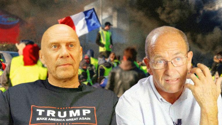 Un leader des Gilets jaunes, proche du néo-nazi Soral, estime que l'antisémitisme et le négationnisme «constituent des opinions»