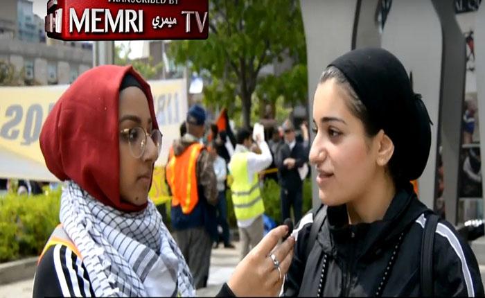 [Vidéo]Journée d'Al-Quds à Toronto : « Je ne me sens pas Canadienne – Le Canada est un projet suprémaciste blanc, colonialiste et raciste à l'instar d'Israël»