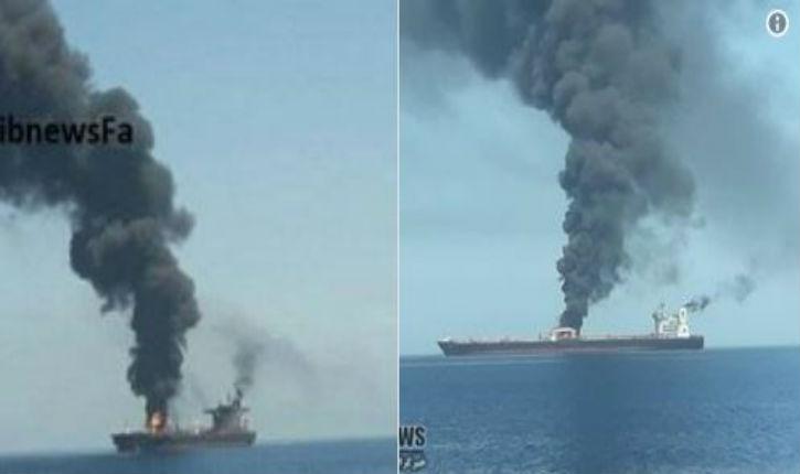 Iran: Un pétrolier a été touché par des missiles en mer Rouge, de lourds dégâts sont signalés