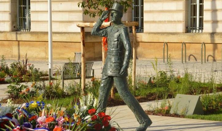 Évreux: la statue du général de Gaulle a été vandalisée après la victoire de l'Algérie