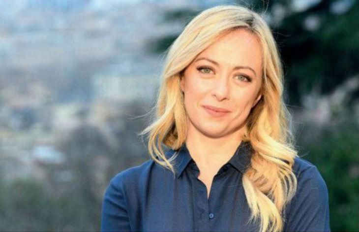 Giorgia Meloni, présidente du parti Fratelli d'Italia