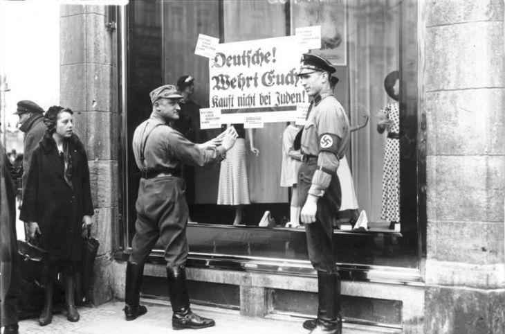 Histoire : 1933-1938 – Aider les Juifs dans le régime de terreur nazi