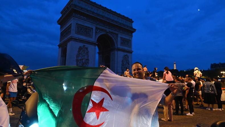 Victoire de l'Algérie : pillages de magasins, violences et heurts avec la police sur les Champs-Elysées (Vidéos)