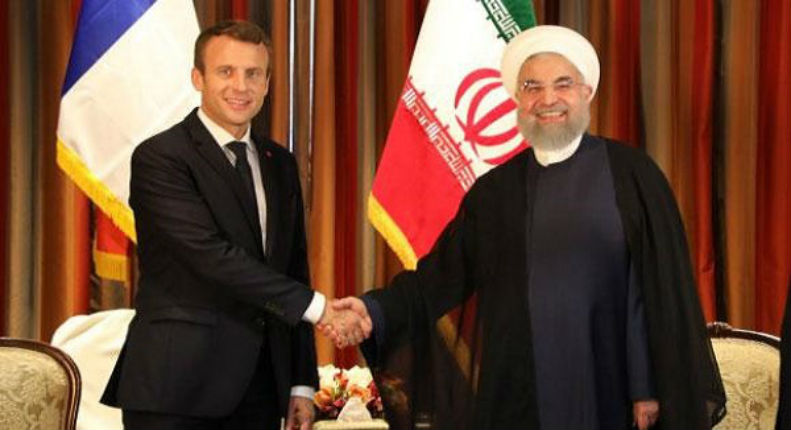 Soumission : Macron propose 15 milliards de dollars à l'Iran et une invitation au G7 en France