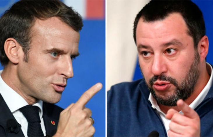 « Macron s'est fait siffler pendant la Fête Nationale », ironise Matteo Salvini