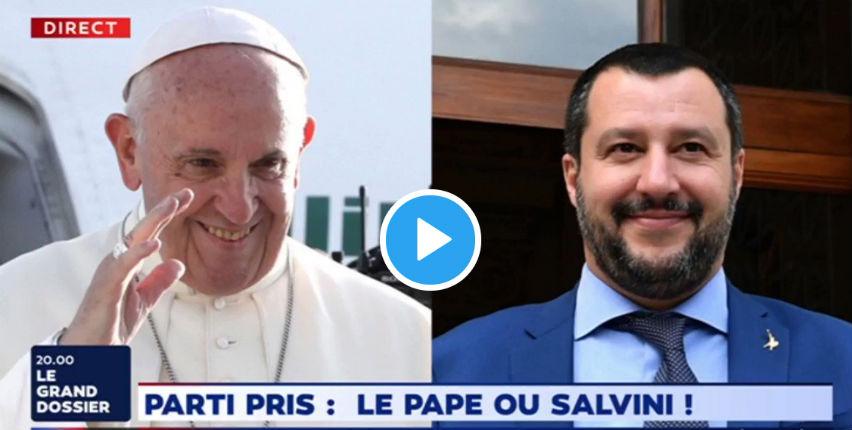 Le Pape ou Salvini ? Vincent Hervouët : « Le pape dénie aux nations le droit de perdurer et de continuer à vivre dans leur identité » (Vidéo)