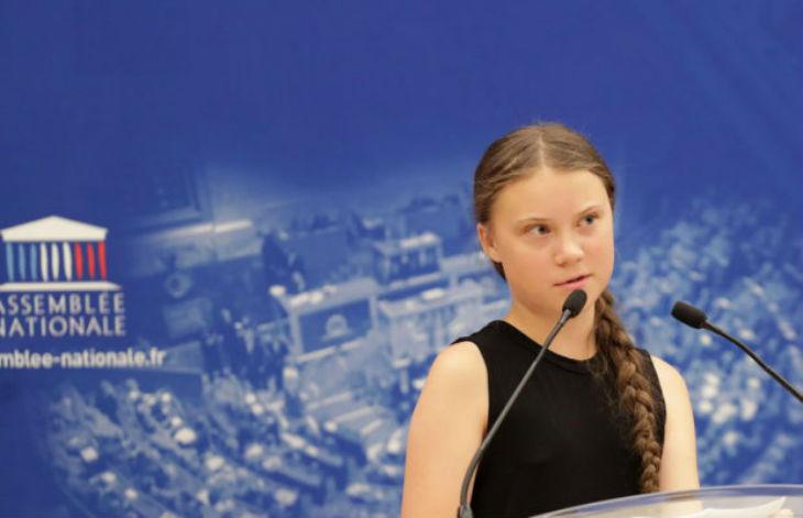 assemblée nationale Greta Thunberg
