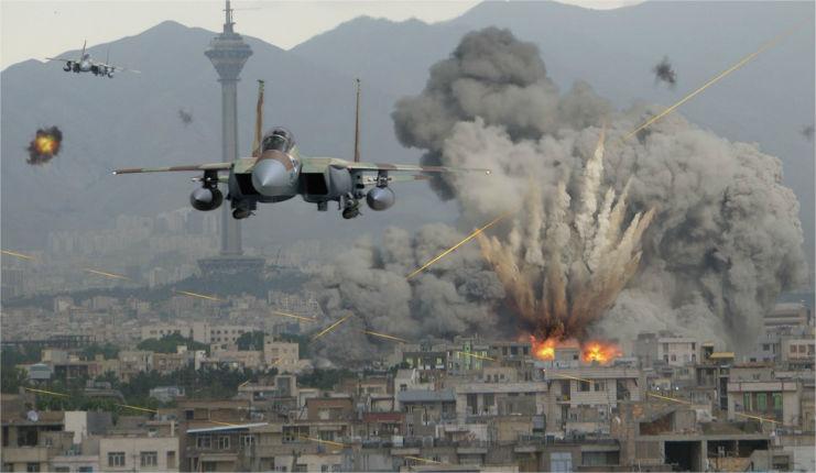 L'armée israélienne frappe 15 cibles terroristes dans la bande de Gaza après l'attaque à la roquette sur des villes israéliennes
