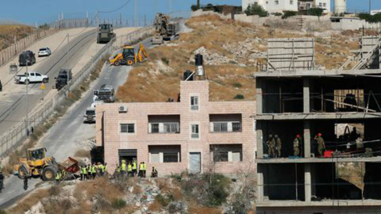 Israël a commencé la démolition de maisons arabes illégales au sud de Jérusalem