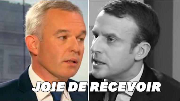 dîners privés Macron et Rugy