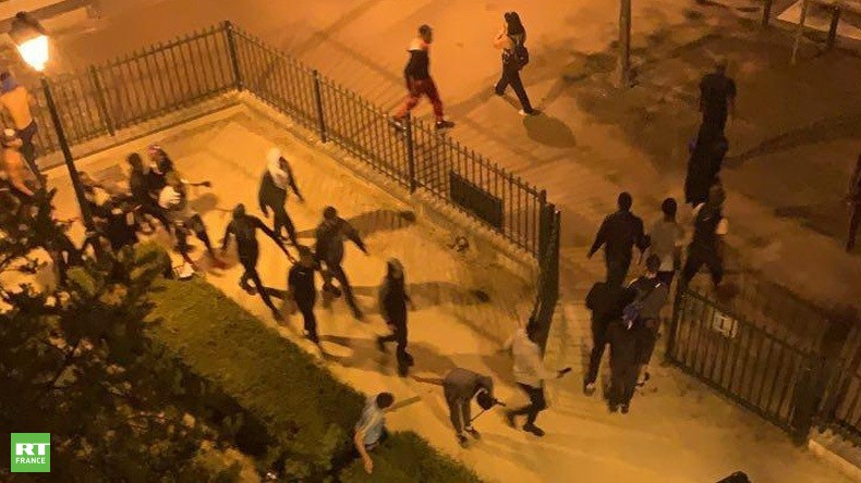 jeunes qui auraient participé à la rixe à Saint-Germain-en-Laye
