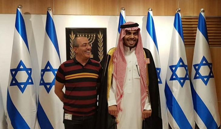 journalistes irakiens et saoudiens invités en Israël