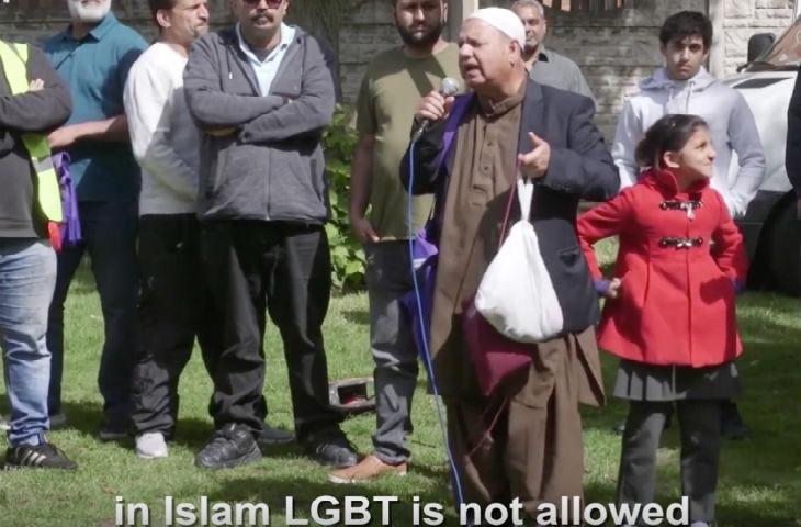 manif musulmans contre LGBT