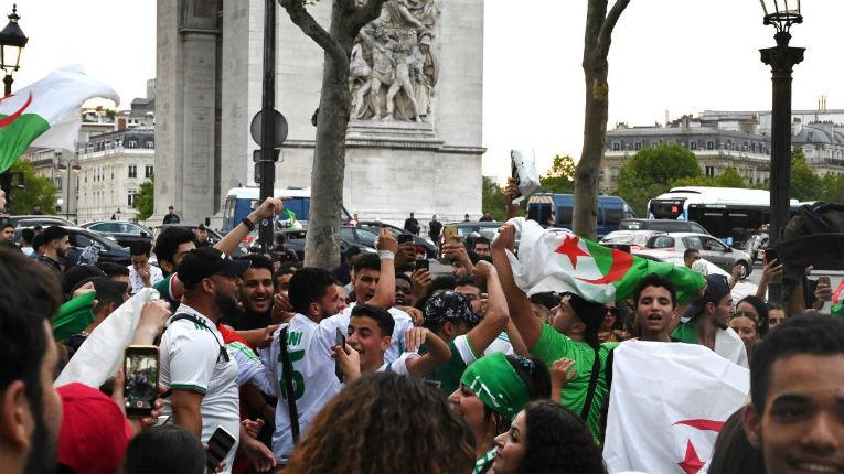 supporters algériens